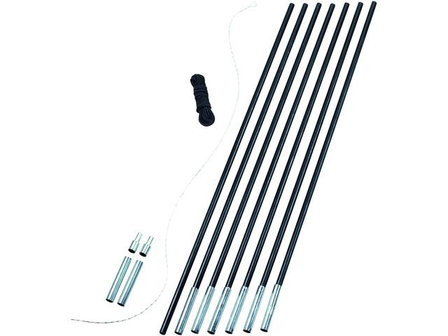 Easy Camp Pole DIY Tentaccessoires hardware Set 8,5 mm zwart